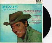 ELVIS PRESLEY By Request EP Vinyl Record 7 Inch Australian RCA Victor 1977